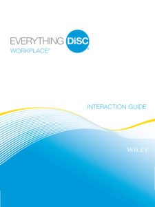 DiSC Workplace Interaction Guides