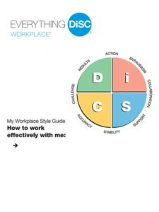 DiSC Workplace Style Guides