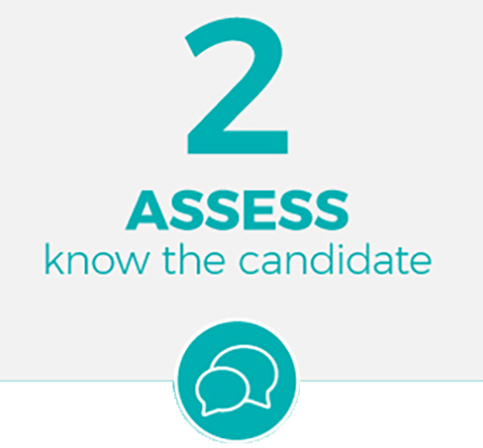 assess your candidate